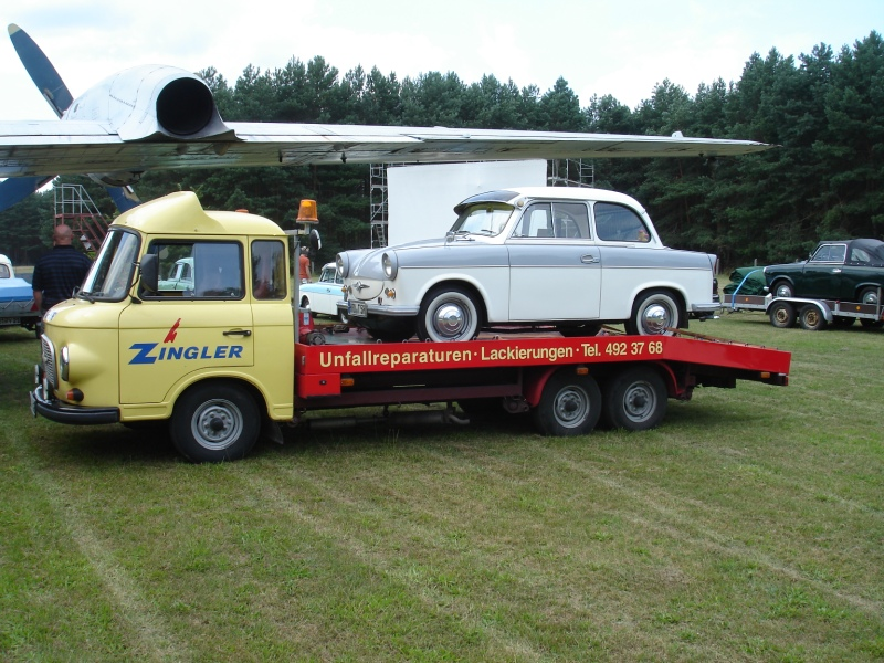 1. Murmeltreffen für Trabant P50 / P60 Borkheide 2009