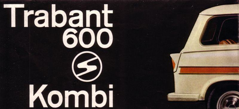 prospekt trabant 600 kombi 1963 finnland news fotos. Black Bedroom Furniture Sets. Home Design Ideas