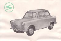 Trabant Limousine & Kombiwagen P50, Prospekt 1959/1960