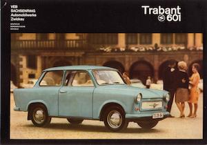 Trabant 601, Prospekt 1966